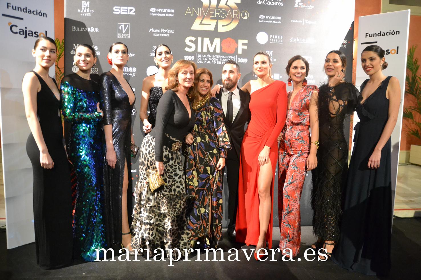 982a8e717 Gala 25 años de Simof. Sevilla 1 de Febrero 2019 | María Primavera